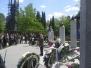 Spominska slovesnost na Žalah v Ljubljani